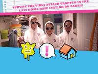 Virus attack emoticon