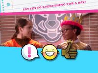 Say yes emoticon