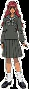Youko Nakajima shcool uniform