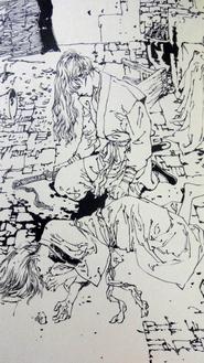 Shinchosha edition artwork Shadow 9