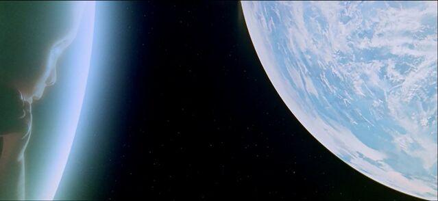 File:Looking down at earth.jpg