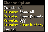 Clear Private Chat & More newspost