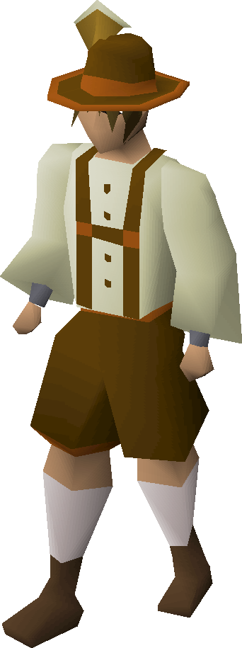 Lederhosen set equipped