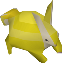 Baby chinchompa (gold) pet