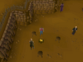 Cryptic clue - dig rogues' den fire.png