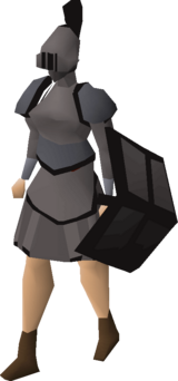 Iron trimmed set (sk) equipped