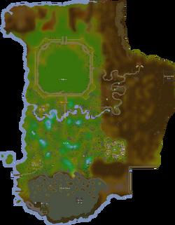 Tirannwn map