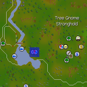 The Eyes of Glouphrie start point map