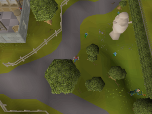 Hot cold clue - near Seers' bank