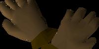 Bronze gloves