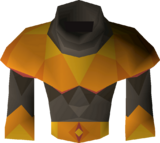 Pyromancer garb detail