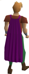 Fremennik purple cloak equipped