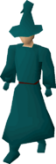 Teal robes equipped