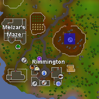 Hot cold clue - rimmington mine centre map