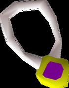 Dragonstone amulet detail