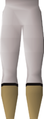 Light trousers detail