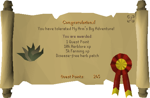 File:My Arm's Big Adventure reward scroll.png