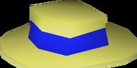 Blue boater