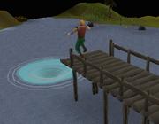 Whirlpool jump