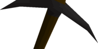 Black pickaxe