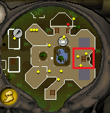 Monkey Madness ladder location