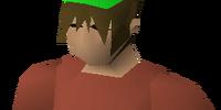 Green partyhat