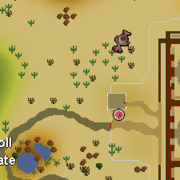 Fire altar location