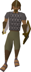 Guard (Desert Mining Camp) (bronze helm)