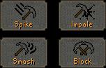 CombatStyles pickaxe