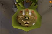 Catspeak amulet in action