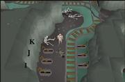 Haunted Mine Levers I-K