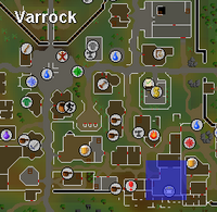 Varrock Chaos Altar Location