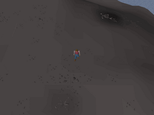 Hot cold clue - east of Venenatis