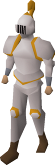 Proselyte armour equipped