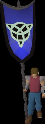 Arceuus banner equipped