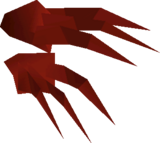 Diango's claws detail