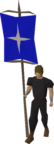 File:Banner (Saradomin) equipped.png
