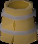 Bucket helm detail