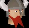 Honour guard (red beard) chathead