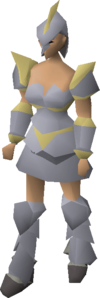 Armadyl armour (female) equipped