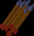 Mithril arrow detail