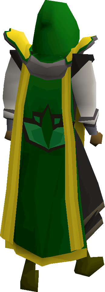 Herblore cape(t) equipped