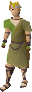 Moonclan helm equipped