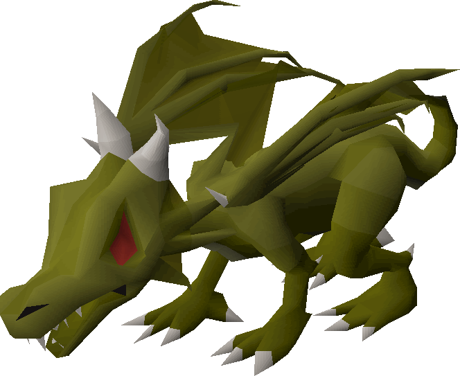 Baby green dragon | Old School RuneScape Wiki | Fandom ... - photo#5