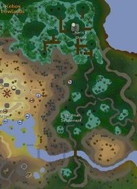 Lizardman Settlement map