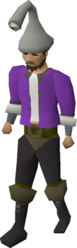Ranger hat equipped