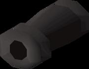 Cannon barrel detail