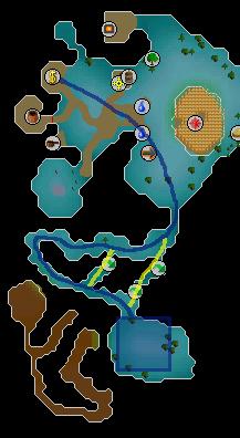 Cosmic altar route
