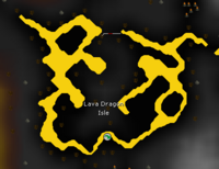 Lava Dragon Isle map