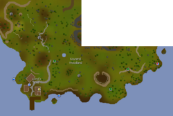 Kourend Woodland map